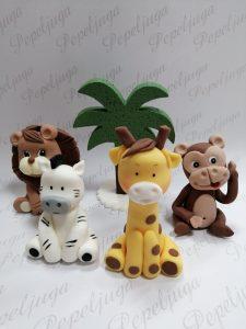 Figurice za Torte od Fondana Madagaskar
