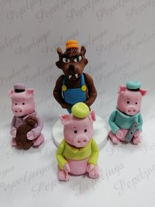 Figurice za Torte od Fondana Tri Praseta