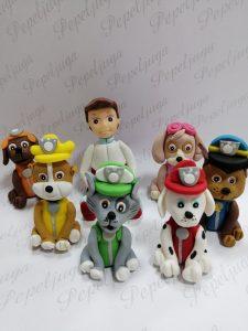 Figurice za Tortu od Fondana Patrolne Sape