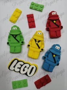 Figurica za Tortu od Fondana Lego