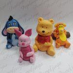 1 Figurice Za Tortu Vinnie The Pooh