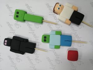 11 Figurice Za Tortu Minecraft