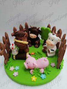 2 Ukrasi Za Torte Farma