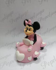 21 Figurice Za Tortu Minnie Mouse u autu