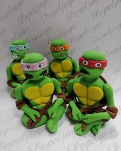 3 Ukrasi Za Torte Nindza kornjace