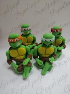 53 FIgurice Od Fondana Ninja Turtles