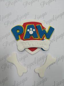 62 Ukrasi Za Torte Paw patrol logo