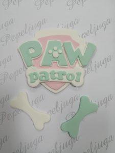 69 FIgurice Od Fondana Paw Patrol Logo