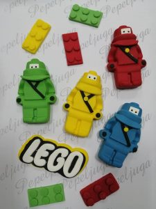 8 Ukrasi Za Torte Lego ratnici